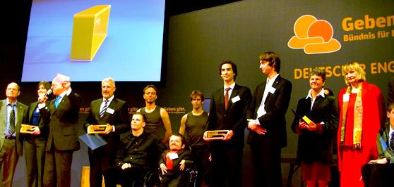 Foto: Deutscher Engagementpreis 2009 - Preisverleihung