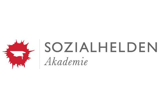 Logo: SOZIALHELDEN Akademie