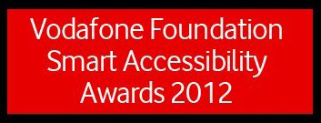 Logo Vodafone Foundation Smart Accessibility Awards 2012