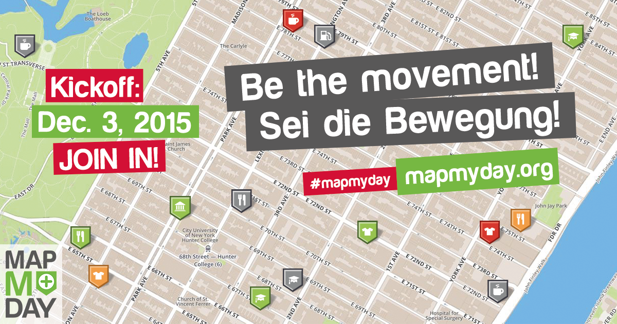 #MapMyDay – Weltweite Bewegung mit interaktivem Stadtplan für mehr Barrierefreiheit