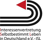 Logo von Interessenvertretung Selbstbestimmt Leben Deutschland e.V. - ISL